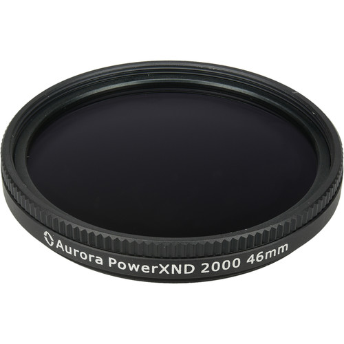 Aurora-Aperture 46mm PowerXND 2000 Variable Neutral Density 1.2 to 3.3 Filter (4 to 11 Stops)