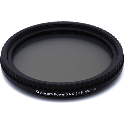 Aurora-Aperture 49mm Power XND Mark II Variable ND 0.3 to 2.1 Filter (1 to 7-Stop)