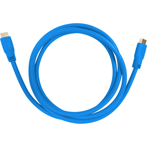 Aurora Multimedia HDMI 2.0a 18Gbps Cable (3.3', Blue)