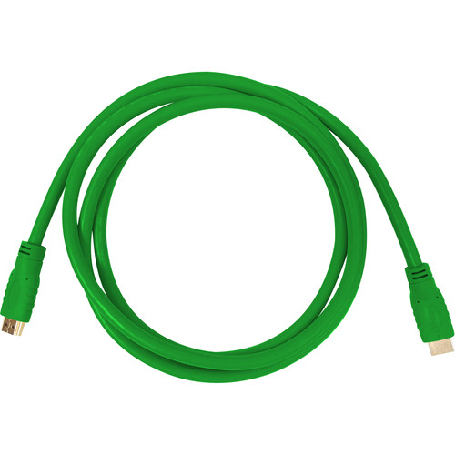 Aurora Multimedia HDMI 2.0a 18Gbps Cable (1.6', Green)