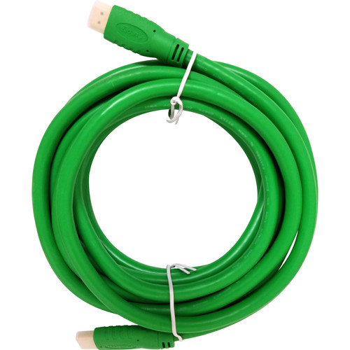 Aurora Multimedia HDMI 2.0a 18Gbps Cable (3.3', Green)