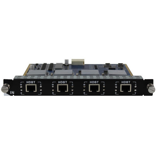 Aurora Multimedia Digital Xtreme 4 Input HDBaseT CAT Card with 600 ft Support