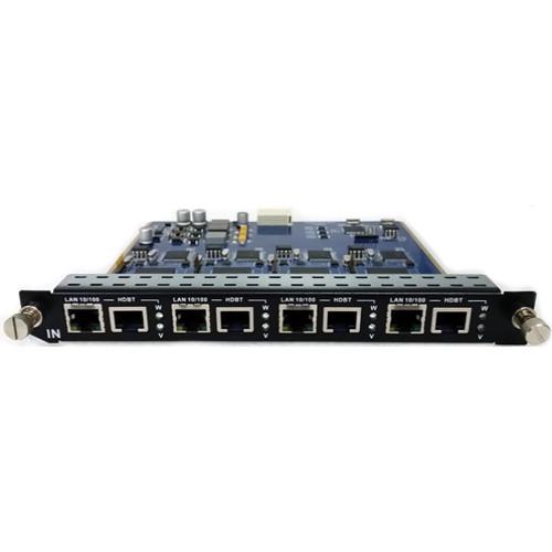 Aurora Multimedia 4 Input HDBaseT & Ethernet Pass-Through Card for DXM G2 Series