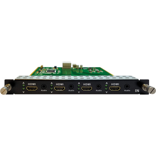 Aurora Multimedia 4-Input HDMI Card for DXM-G3 Matrix Card Cage