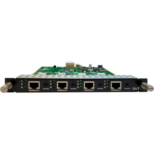 Aurora Multimedia 4-Output HDBaseT Card for DXM-G3 Matrix Card Cage (330/600')