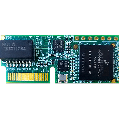 Aurora Multimedia Dante Audio Card for VLX and DTX Series