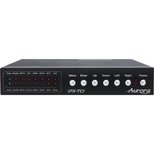 Aurora Multimedia IPX-TC1 4K2K IP/AV Streaming Transceiver (10Gb Fiber)