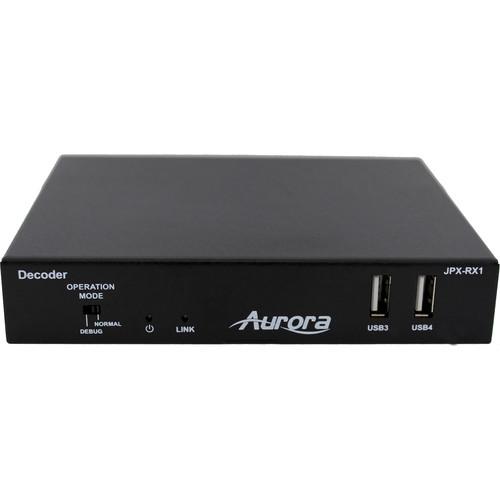 Aurora Multimedia JPEG2000 to HDMI Streaming Media Decoder
