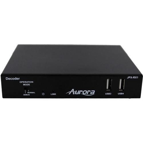 Aurora Multimedia JPX Series JPX-RX1 HDMI over IP Receiver (Black)