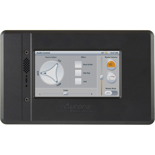 Aurora Multimedia NXT-470 Touch Panel Interface with Integrated Control System (Black)