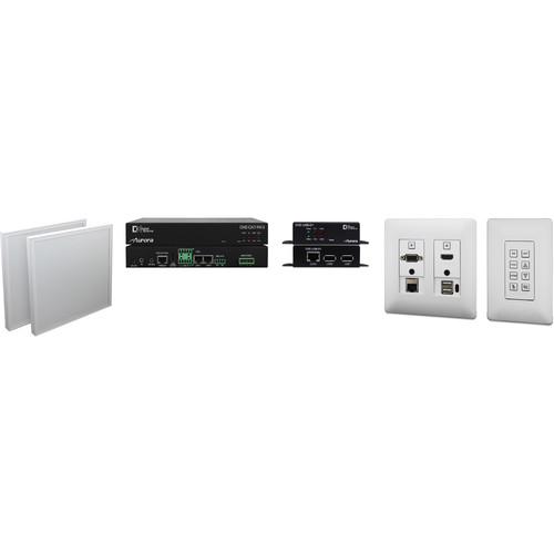 Aurora Multimedia One Room-One Cable Kit with Ethernet & USB (Web Control, White)