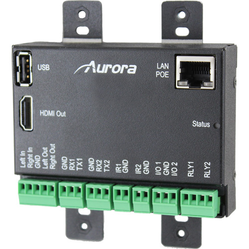 Aurora Multimedia VLX Embedded Linux Control Server Version