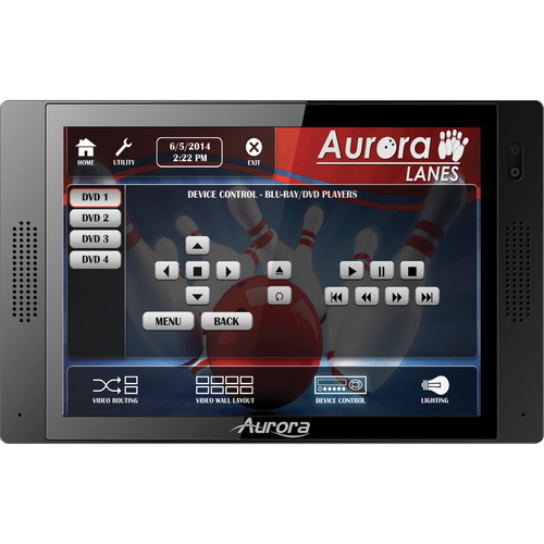 "Aurora Multimedia QXT-700 7"" In-Wall Touch Panel Controller (Black)"