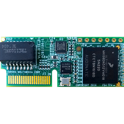 Aurora Multimedia VLX-DTE Dante Option Card for IP Streaming System
