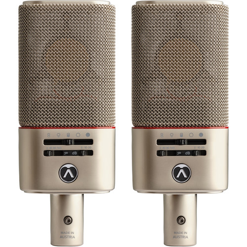 Austrian Audio OC818 Live Set Large-Diaphragm Multi-Pattern Condenser Microphone (Matched Pair)