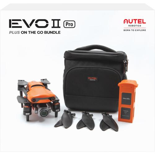 Autel Robotics EVO II PRO 6K Drone Plus On-the-Go Bundle (Single-Band)