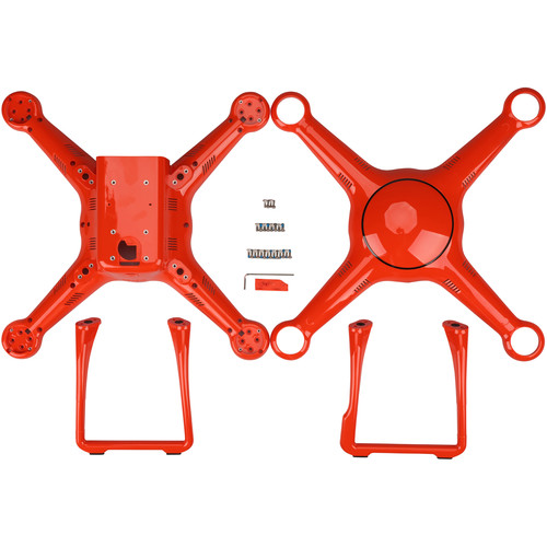 Autel Robotics Body Shells and Landing Gear for X-Star Quadcopter (Orange)