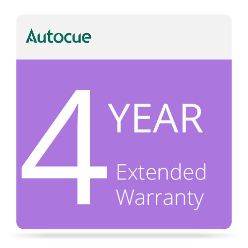 AutocueQTV 4-Year Extended Warranty for MSP17 Prompter Monitor