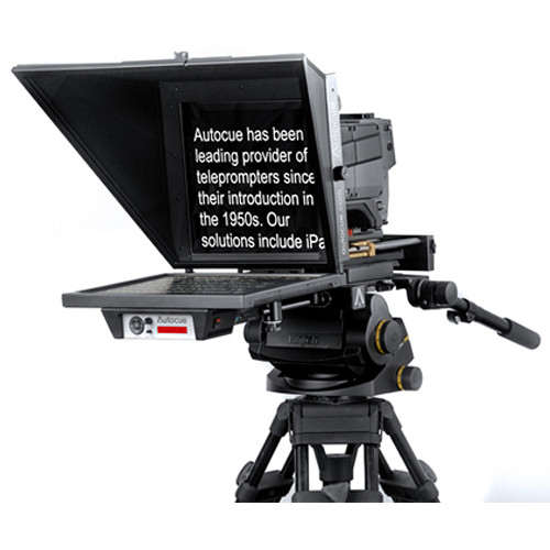 """Autocue Master Series 20"""" Teleprompter"""