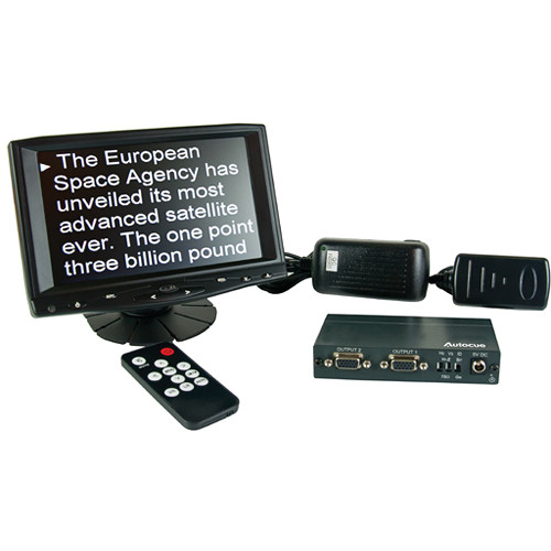 "Autocue/QTV 7"" Teleprompter Preview Monitor Kit"
