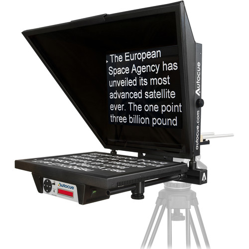 "Autocue/QTV Master Series 20"" Teleprompter with 12"" Long Rod"