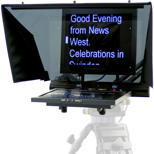 """AutocueQTV 17"""" Teleprompter for PTZ Cameras"""