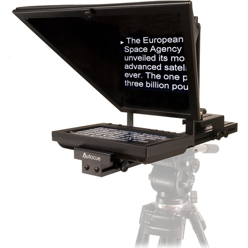 """AutocueQTV 8"""" Starter Series Lite Teleprompter Package and Qstart"""