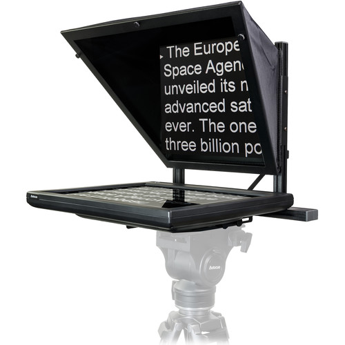 "Autocue/QTV 19"" Starter Series Teleprompter Package with LITE Rig Mount Plate"