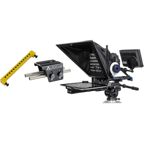 Autocue/QTV Starter Series DSLR Teleprompter Package for iPad
