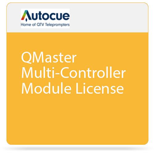 Autocue/QTV QMaster Multi-Controller Module License