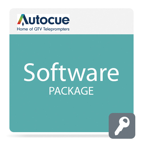 Autocue/QTV QMaster Teleprompting Software Package