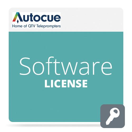 AutocueQTV QStart Mac Teleprompting Software Mavericks Upgrade