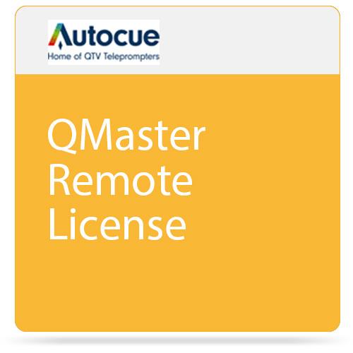 AutocueQTV QMaster Remote License