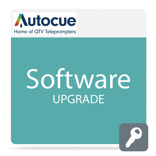 Autocue/QTV QMaster Software Package Upgrade with QBox for Wincue Pro User