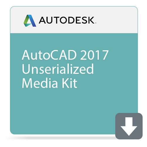 Autodesk AutoCAD 2017 Unserialized Media Kit