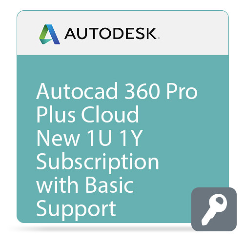 Autodesk AutoCAD 360 Pro Plus CLOUD with Basic Support (1-Year Subscription, Download)