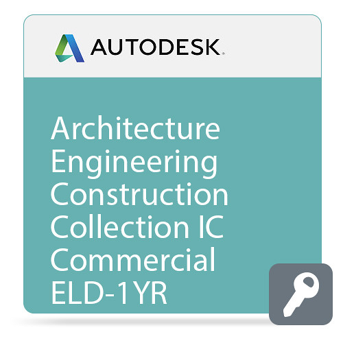 Autodesk Architecture Engineering Construction Collection IC Commercial ELD Annual Subscription