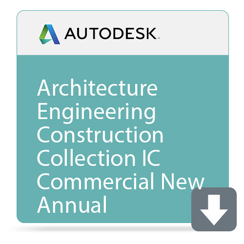 Autodesk Architecture Engineering Construction Collection IC Commercial New Single-User ELD Annual Subscripti