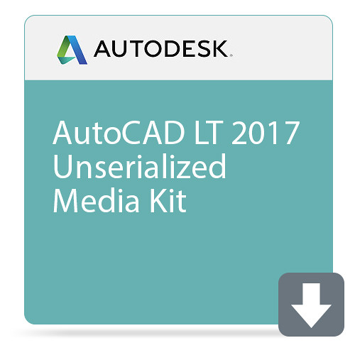 Autodesk AutoCAD LT 2017 Unserialized Media Kit