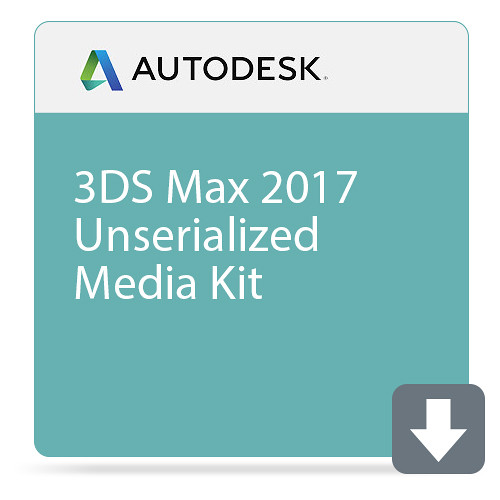 Autodesk 3ds Max 2017 Unserialized Media Kit