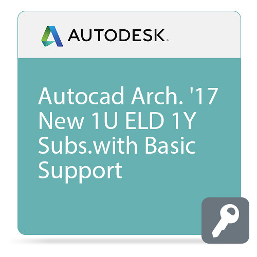 Autodesk AutoCAD Architecture 2017 with Basic Support (1-Year Subscription, Download)