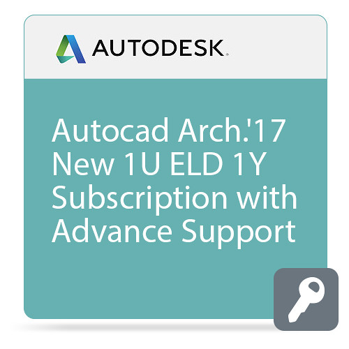 Autodesk AutoCAD Architecture 2017 with Advanced Support (1-Year Subscription, Download)