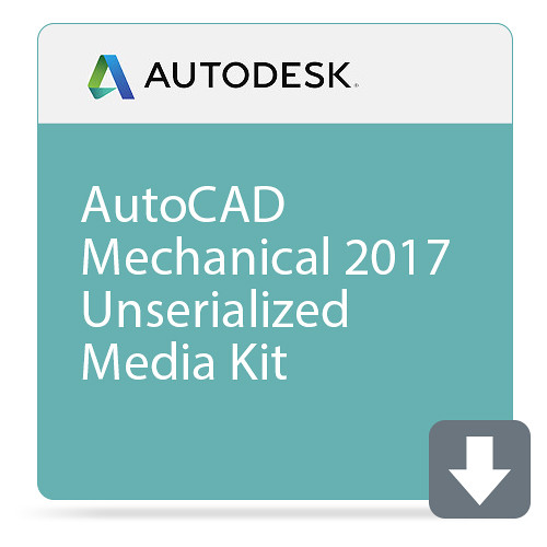Autodesk AutoCAD Mechanical 2017 Unserialized Media Kit