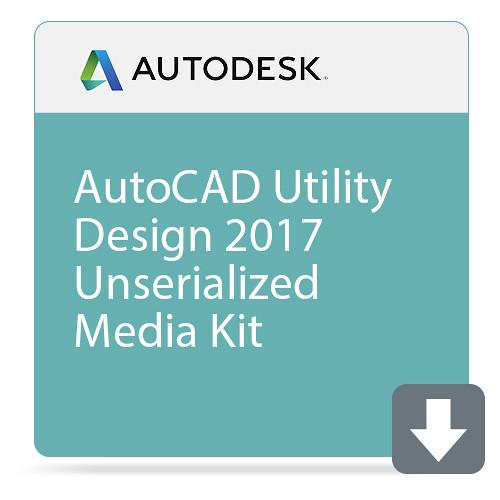 Autodesk AutoCAD Utility Design 2017 Unserialized Media Kit