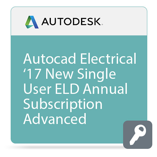 Autodesk AutoCAD Electrical 2017 with Advanced Support (1-Year Subscription, Download)