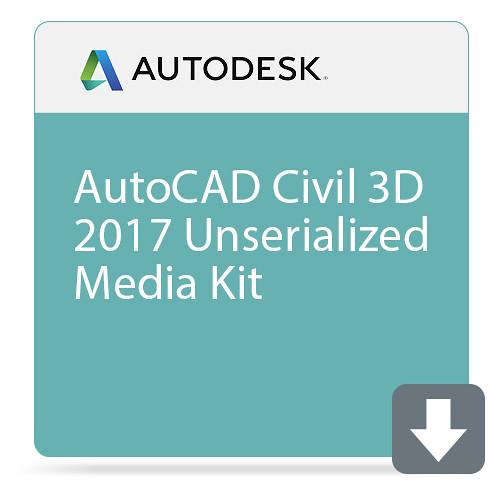 Autodesk AutoCAD Civil 3D 2017 Unserialized Media Kit
