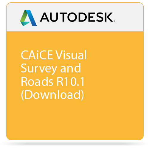 Autodesk CAiCE Visual Survey and Roads R10.1 (Download)