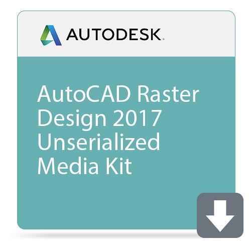 Autodesk AutoCAD Raster Design 2017 Unserialized Media Kit