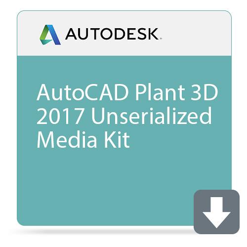 Autodesk AutoCAD Plant 3D 2017 Unserialized Media Kit