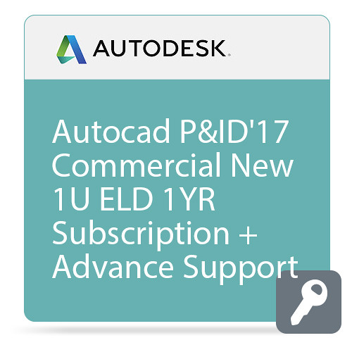 Autodesk AutoCAD P&ID 2017 Commercial New Single-user ELD Annual Subscription - Basic Support